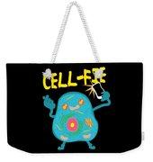 Science Nerd Shirt Cellfie Dad Joke Weekender Tote Bag