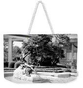 Sculpture Getty Villa Black White  Weekender Tote Bag