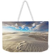 Sea Of Sand - Endless Dunes At White Sands New Mexico Weekender Tote Bag