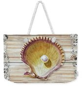 Sea Shell Beach House Rustic Chic Decor IIi Weekender Tote Bag