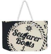 Seaside Sailors Badge Weekender Tote Bag