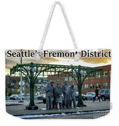 Seattle's Fremont District  Weekender Tote Bag