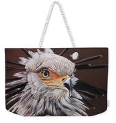 Secretary Bird Weekender Tote Bag