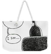 Seeing The Problem Weekender Tote Bag