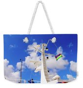 Semi-large Ship's Radar Tower And Headlights. Weekender Tote Bag