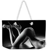 Sensual Nude Body Curves Weekender Tote Bag