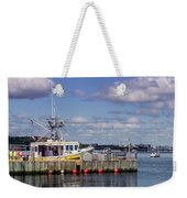 Serene Day Fisherman's Cove  Weekender Tote Bag