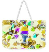 Served Ice-cream Cold Weekender Tote Bag