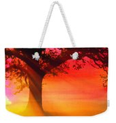 Shade Tree At Dawn Weekender Tote Bag