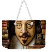 Shakespeare With Old Books Weekender Tote Bag