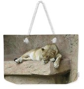 She Lion Weekender Tote Bag