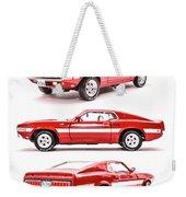 Shelby Gt500  Weekender Tote Bag