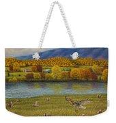 Shenandoah Valley Hawk Weekender Tote Bag