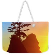 Shi Shi Sea Stacks Weekender Tote Bag