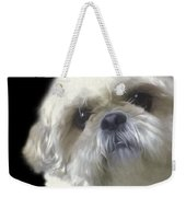 Shih Tzu For Dad-bubba Weekender Tote Bag