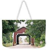 Shimanek Covered Bridge Weekender Tote Bag