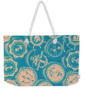 Ship Shape Nautical Designs Weekender Tote Bag