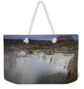 Shoshone Falls Rainbow Weekender Tote Bag