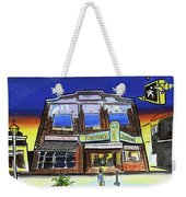 Show Time-acadia Cinema Weekender Tote Bag