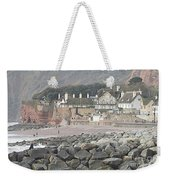 Sidmouth Sea Front Weekender Tote Bag
