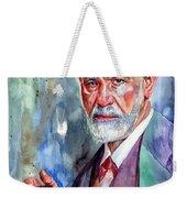 Sigmund Freud Portrait II Weekender Tote Bag