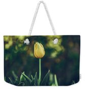 Silence Is Golden Weekender Tote Bag by Dheeraj Mutha
