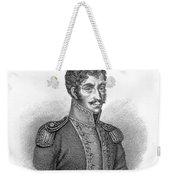 Simon Bolivar Venezuelan Statesman, Soldier, And Revolutionary Leader Weekender Tote Bag
