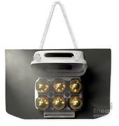 Six Golden Eggs In An Egg Carton Weekender Tote Bag