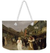 Sixth Avenue And Thirtieth Street, New York City, 1907 Weekender Tote Bag
