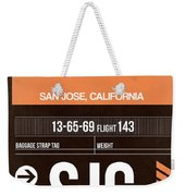 Sjc San Jose Luggage Tag II Weekender Tote Bag