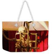 Skeleton  In Torturedevise Weekender Tote Bag