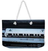 Skytrain Wagon  Weekender Tote Bag by Juan Contreras