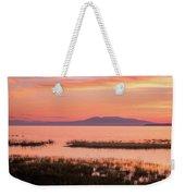 Sleeping Lady Sunset Weekender Tote Bag