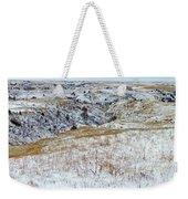 Slope County Snowfall Weekender Tote Bag