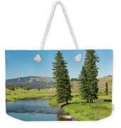 Slough Creek Weekender Tote Bag