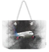 Slovak Government Flying Service Airbus A319-115 Painting Weekender Tote Bag