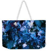 Smouldering Blue Weekender Tote Bag