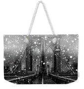 Snow Collection Set 04 Weekender Tote Bag