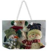 Snow Folk Weekender Tote Bag