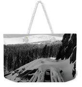 Snow Trellis Weekender Tote Bag