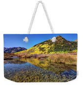 Snowmass Creek Weekender Tote Bag