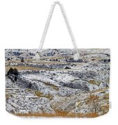 Snowy Dakota Weekender Tote Bag