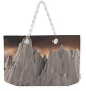 Snowy Mountain 006 Weekender Tote Bag by Clayton Bastiani