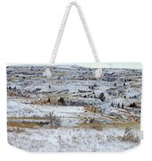 Snowy Slope County Weekender Tote Bag