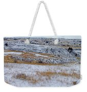 Snowy Slope County Territory Weekender Tote Bag