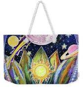 Solstice Moon Weekender Tote Bag