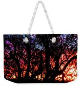 Sonoran Sunrise Ironwood Silhouette Weekender Tote Bag