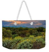 Sonoran Valley Sunset V1922 Weekender Tote Bag by Mark Myhaver