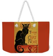 Soon, The Black Cat Tour By Rodolphe Salis - Digital Remastered Edition Weekender Tote Bag