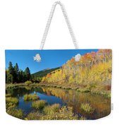 South Elbert Autumn Beauty Weekender Tote Bag by Cascade Colors